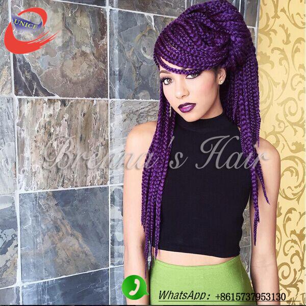 Super Aliexpress Com Buy 3S Box Braids Hair Ombre Colored Crochet Short Hairstyles For Black Women Fulllsitofus