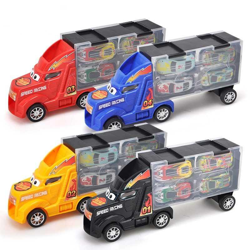 Tarik Kembali Mobil Mainan Kendaraan Mobil Mainan Anak-anak untuk Anak-anak Mini Kendaraan Truk Tarik Kembali Mobil Diecasts Kendaraan Mainan Ulang Tahun hadiah 1:24