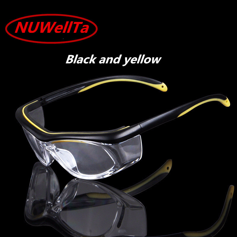 Safety & Protective Gear 3m 10196 Protective Eyewear Clear Anti-fog Lens Windproof Sand Laboratory Safety Matching In Colour