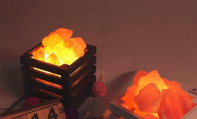 Lampade Cristallo Di Sale : Antipertensivo luci di cristallo di sale dell himalaya decorato