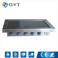 New Arrival Panel Pc Industrial 12 Fanless 3855U Waterproof Touch All In One Mini Pc With