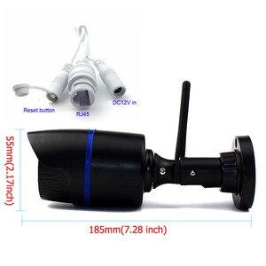 Image 5 - CamHi WIFI IP güvenlik kamerası ses kaydı 1080P 960P 720P ağ 2.0MP kablosuz kamera Onvif su geçirmez IP kamera TF kart depolama