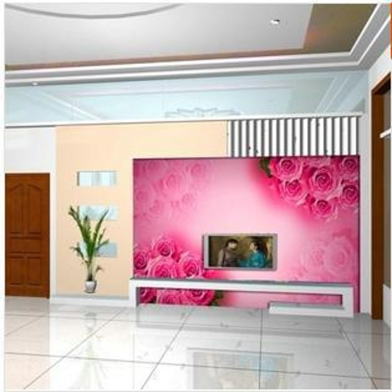 beibehang Large living room wallpaper mural bedroom TV background ...