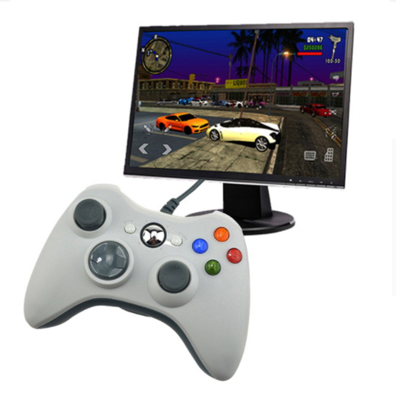 Wired Controller USB Joystick para PC Controle para computadora Win7 Win8 Win10 no para xbox 360