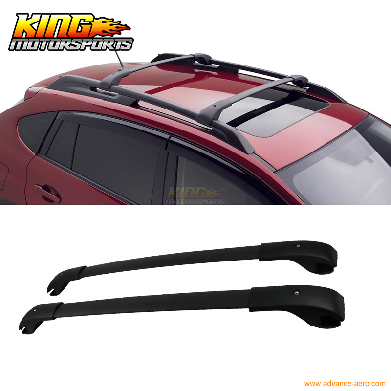 For 12-16 Subaru Impreza XV Crosstrek Sport Roof Rack Cross Bar - Pair USA Domestic Free Shipping partol black car roof rack cross bars roof luggage carrier cargo boxes bike rack 45kg 100lbs for honda pilot 2013 2014 2015