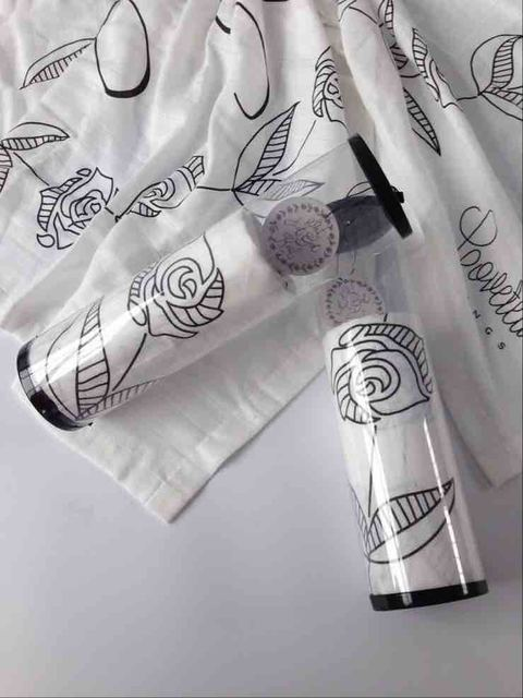 """РОЗА Marquisette Пеленальный Одеяло 48 """"x 48"""", Черная Роза дизайн, детская кроватка fiited листов, изменение pad крышки, путешествия одеяло"""