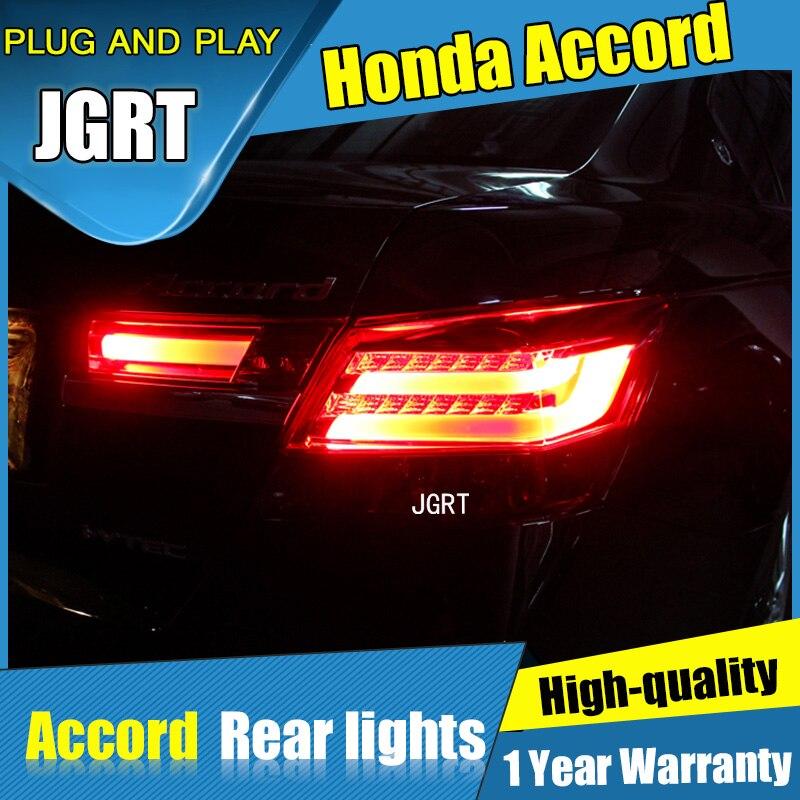 4шт автомобиля стайлинг для Хонда Аккорд 8 2008-2012 задние фонари на Аккорд 8 LED задний фонарь+сигнала поворота+тормоза+задние светодиодные