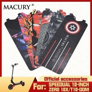 Macury Sticker for Speedual and Zero 10X Zero10X T10-ddm Non-Slip Decal Sandpaper coated abrasive paper Anti-slip tape(China)