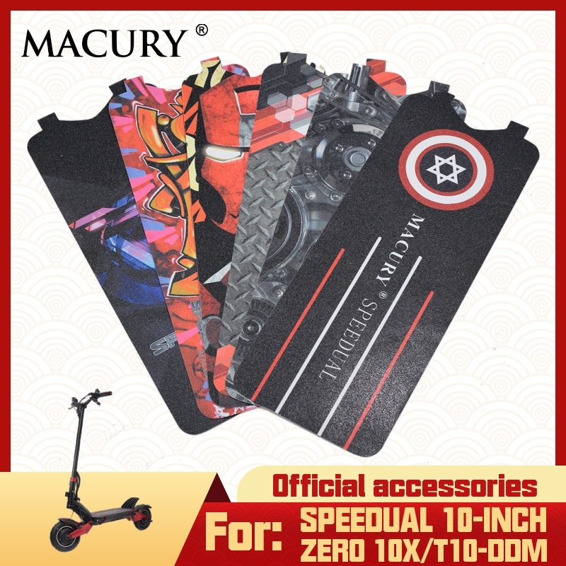 Macury Sticker voor Speedual en Nul 10X Zero10X T10-ddm Antislip Decal Schuurpapier gecoat schuurpapier Anti-slip tape