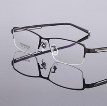 Retro metal alloy sheet business men and all frame myopia glasses frame TF5300 wholesale spectacle frames Free shipping