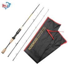 ROSEWOOD UL Casting Spinning Fishing Rod Solid Carbon Travel Rod 1.8m Ideal Rod For Carp, Crappie, Perch, And Bass