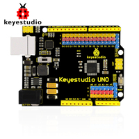 Free Shipping !keyestudio UNO R3 official upgrated version with pin header interface for Arduino Compatible