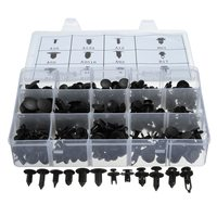 240x Plastic Rivets Fastener For Fender Bumper Push Screw Pin Clips Kit Set For Honda For