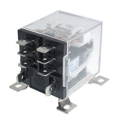 цена на JQX-12F 2Z DC 12V 30A DPDT General Purpose Power Relay 8 Pin  Free Shipping