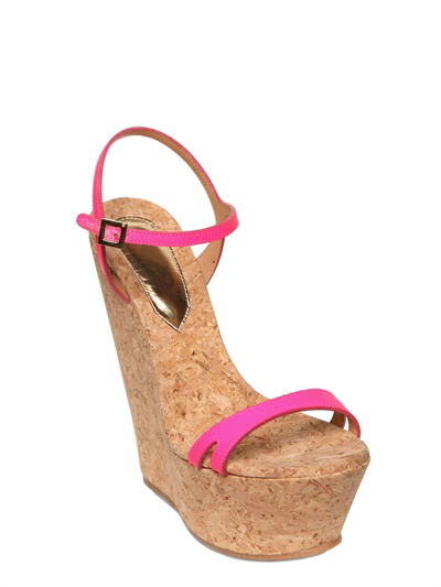 Leisure lasting appeal of pink  leather open bind waterproof table coarse high-heeled women  fashion  sandals
