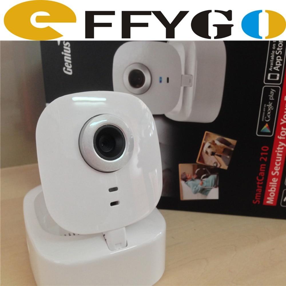 genius smartcam 210 security camera hd 720p wifi wireless dvr ip video motion detection. Black Bedroom Furniture Sets. Home Design Ideas