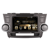 8 Android 8.1 IPS quad core car multimedia DVD player Radio GPS FOR TOYOTA HIGHLANDER 2008 2011 2012 2013 OBD 3G WIFI camera