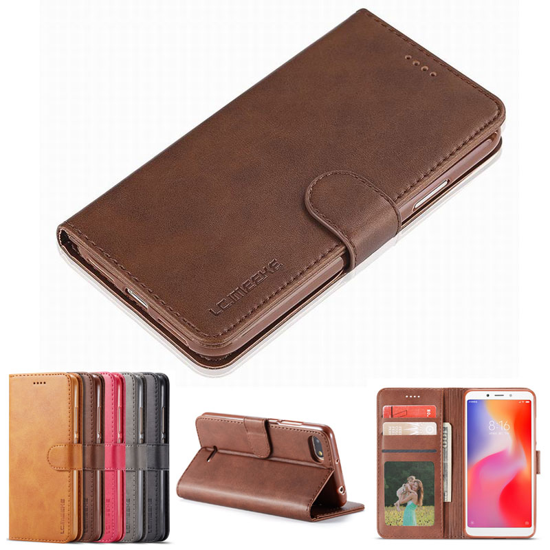 Wallet Case For Xiaomi Redmi 6A Flip Cover Case On Xiaomi 6A 360 Luxury High Quality Leather Phone Bags Coque Redmi 6A 6 A CoverWallet Case For Xiaomi Redmi 6A Flip Cover Case On Xiaomi 6A 360 Luxury High Quality Leather Phone Bags Coque Redmi 6A 6 A Cover