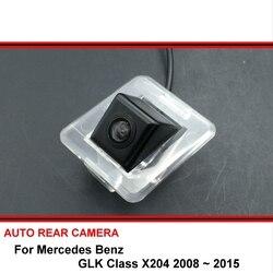 Dla Mercedes Benz GLK klasa X204 08 ~ 15 widok z tyłu samochodu kamera trasera Auto rewers backup parking Night Vision wodoodporny HD SONY