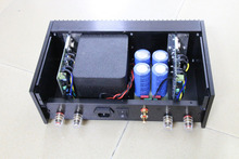 Finished Classic QUAD405 Clone Power amplifier Audio amp 100W+100W ONSEMI MJ15024