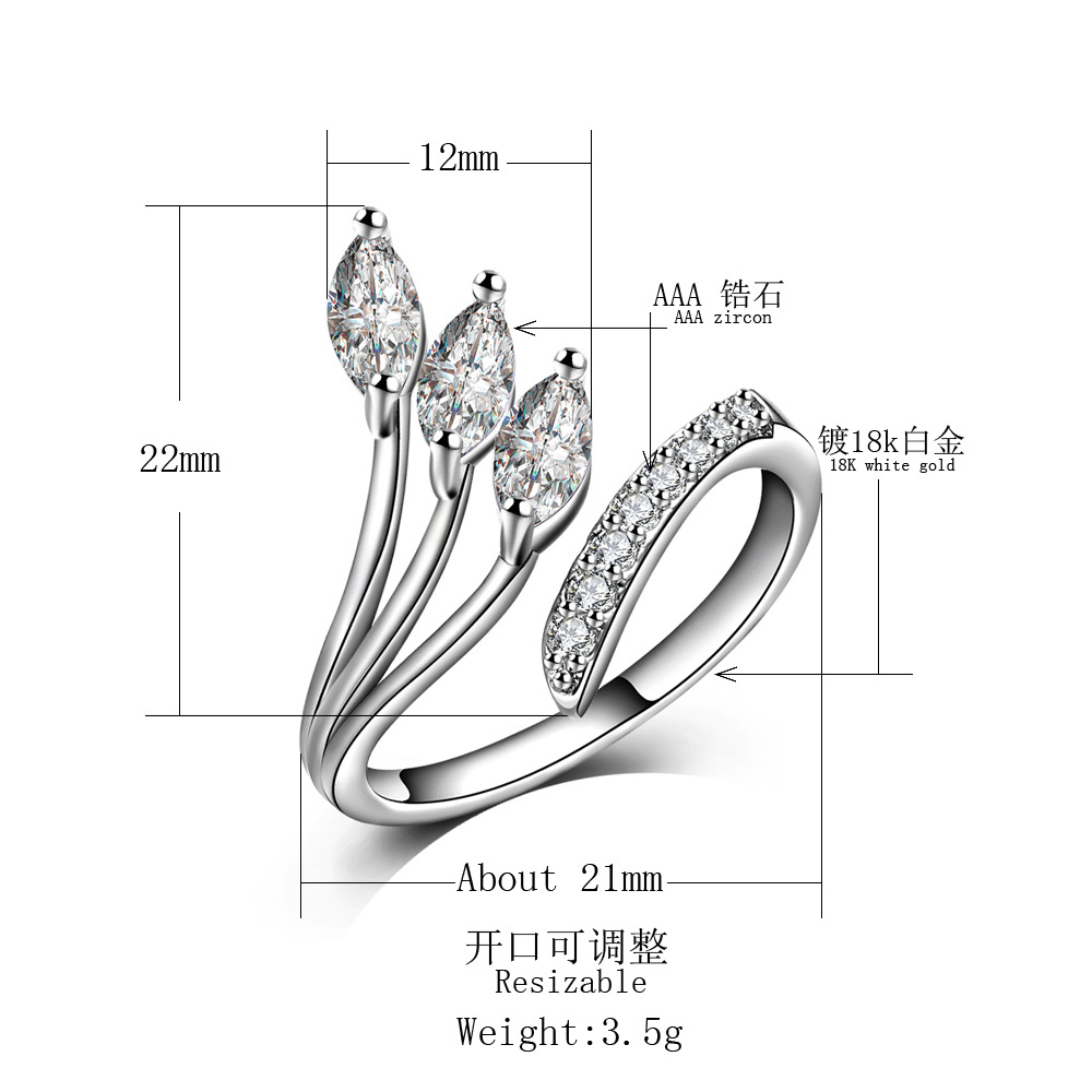 echte pure 925 sterling Silver rings for Women wedding rings Original Jewelry JZ93 anillos mujer bague argent 925 femme anel