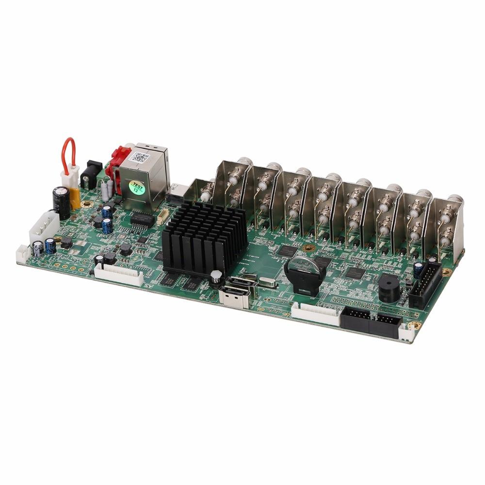 Gadinan 16 Channel Ahd Dvr 1080p 16ch Cvi Tvi 2mp Cctv Video Port Camera Wiring Diagram Recorder 5 In 1 Security System Hybrid Nvr Diy Board Surveillance