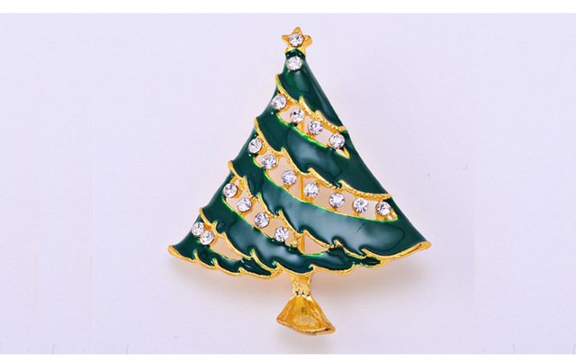 The new European Christmas gifts wholesale high grade brooch ...