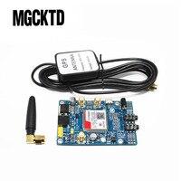 Sim808 módulo GSM GPRS GPS desarrollo IPX SMA con GPS Antenas para frambuesa PI soporte 2G 3G 4G tarjeta SIM