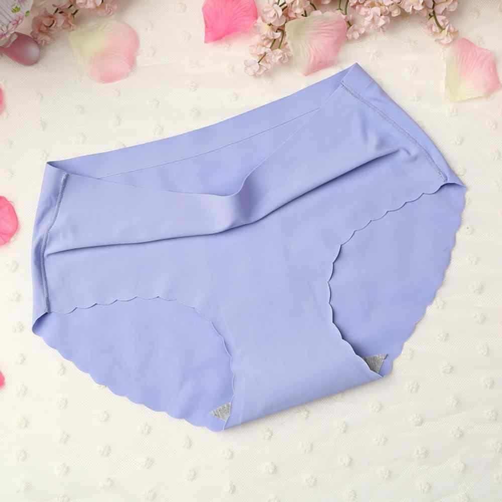 KWD ใหม่ขนาดใหญ่หญิงเซ็กซี่ผู้หญิงกางเกงไม่มีรอยต่อน้ำแข็งผ้าไหมชุดชั้นในสตรีเซ็กซี่กระชับชุดชั้นใน