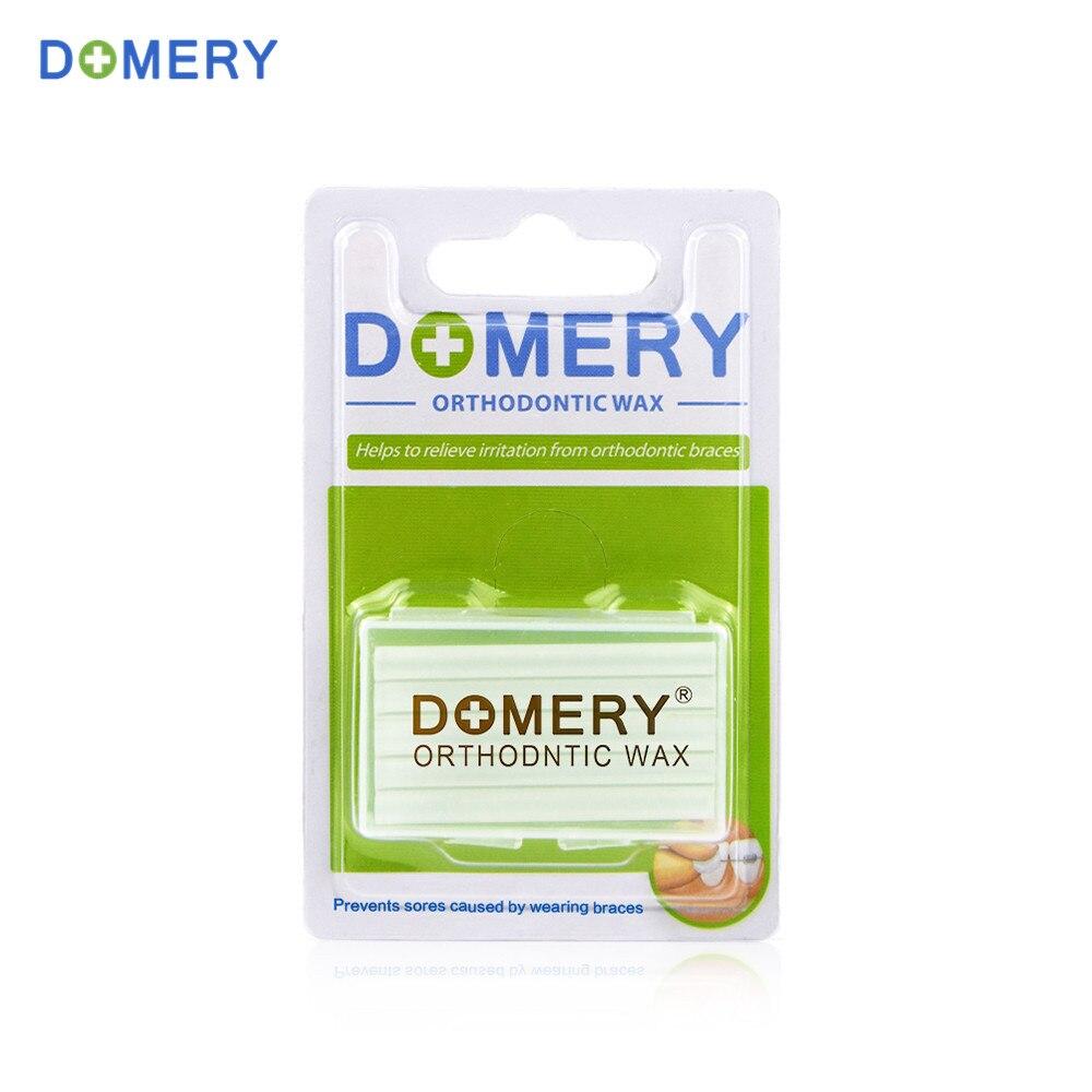 Domery 5 pcs / box Gigi Ortodonti Lilin Mint Aroma Oral Hygiene Alat untuk Menghilangkan Rasa Sakit Iritasi Gum