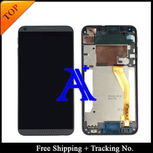 Free Shipping + Tracking No. 100% tested Original For HTC Desire 816 800 D816W LCD Digitizer Assembly Frame – White/Blue/Black
