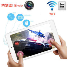 "Win10 Android5.1 Cube iWork8 Ultimate WIFI Quad Core 8"" Tablet PC FullHD HDMI"