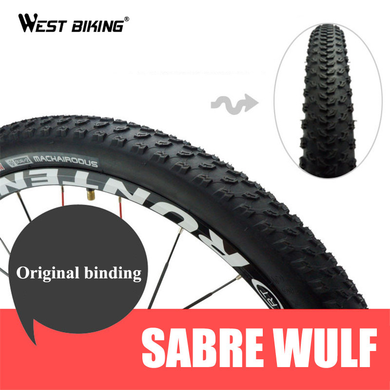 WEST BIKING PRO MTB Bike Tire 26 * 2.125 Road MTB Bicycle Tires 60 TPI Nonslip Anti-Puncture Cycling Bicycle Tire Bike Tires kenda slick bicycle tires 26x1 5 mtb road bike tyre rubber slick tread tires for bicycle competition training bike tire 60 tpi