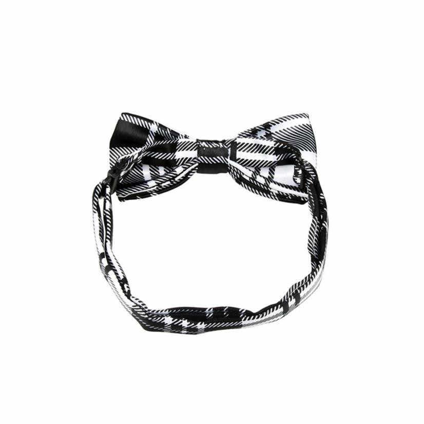 جديد مدرسة بنين أطفال الأطفال القوس الزفاف منقوشة دوت التعادل ربطة العنق الساتان ربطة العنق لحفلات الزفاف قابل للتعديل ربطة القوس فيونكة عقدة