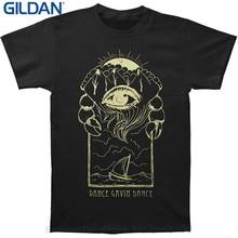 Casual Plus Size T-shirts Hip Hop Style Tops Tee S-2xl Dance Gavin Dance Men's Eye T-shirt Black