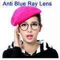 Анти Blue Ray Компьютерные Очки Мужчины Женщины Прозрачные Очки Мода Очковые оправы Круглые Óculos Де Грау Женщины Прозрачные Линзы