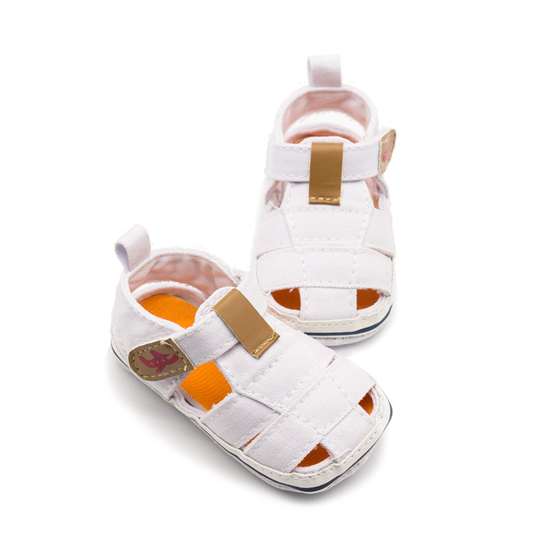 Adela Flower Baby Boy Sandals Fashion Style Baby Summer Shoes Breathable Soft Sole Denim Baby Sandals Boys 0-18M bebek sandalet