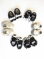 Newest 19 Style Cute Pattern Genuine Leather Baby Moccasins Soft Baby Shoes First Walker Chaussure Newborn
