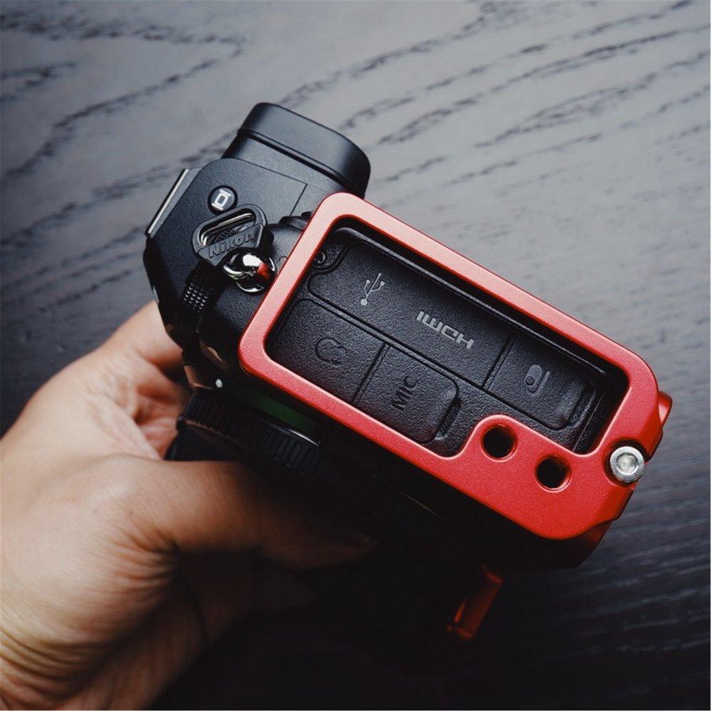 Support Vertical en aluminium rouge à dégagement rapide QR L pour Nikon Z6 Z7 Arca Sunway Benro-in Trépieds et monopodes from Electronique    1