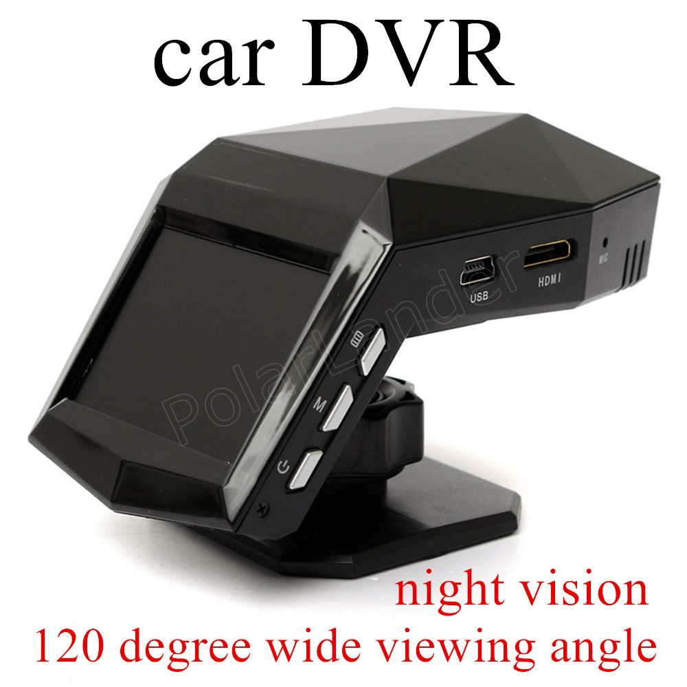 Car DVR Dash-Camera Black Box Video-Recorder G-Sensor Night-Vision 30fps Mini Full-Hd