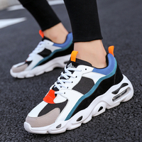 YUXIUYUAN Men's Chunky Trainers Sneaker Dad Shoes High Platform Shoes Men Sneakers Classic Black And White Sneakers Men