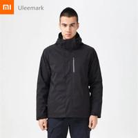 Xiaomi chain brand Uleemark waterproof men jacket Winter Autumn outdoor sport windproof wearproof Hiking Camping Male Jacket   bag