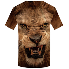 Animal Lion Shirt Camiseta 3d T-Shirt For Men