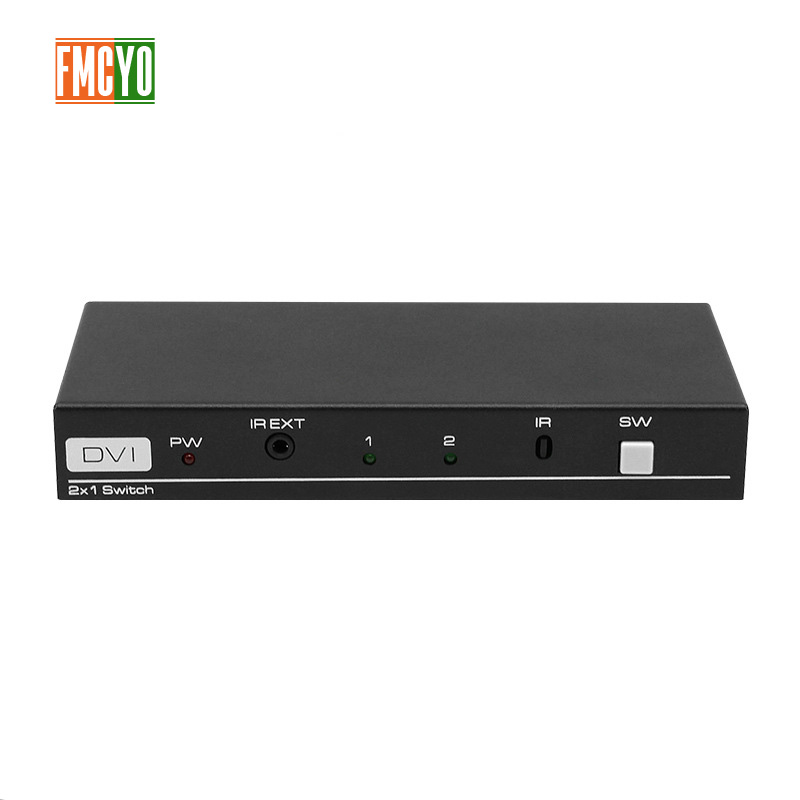 Hot 2 Port KVM USB Switch Switcher Manual DVI USB KVM Switch BOX USB 2.0 Mouse Keyboard 4K