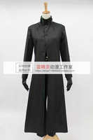 Free shipping Li Shenshun Darker than Black: The Black Contractor Kuro no Keiyakusha Hei Cosplay Costume (noly coat)Anysize