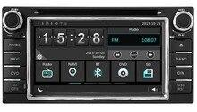 Dvd-плеер GPS Navi головного устройства для Toyota Corolla 2000-2006 Hilux 2001-2011 стерео с радио Bluetooth карта камера заднего вида