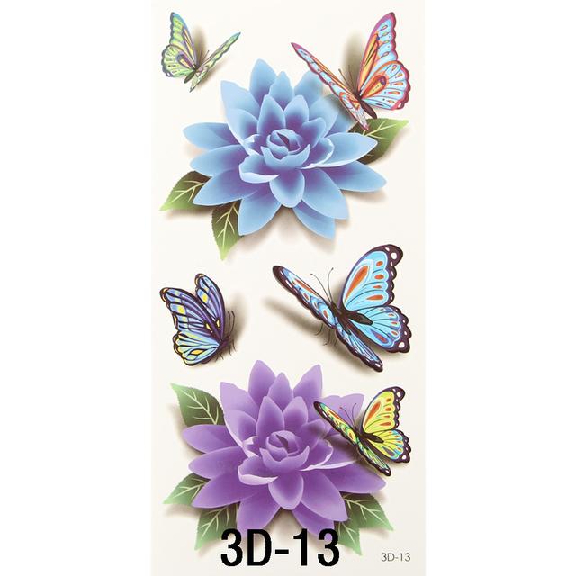 36 Sheets 3D Temporary Tattoo