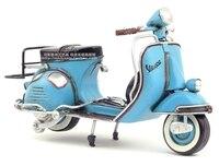 Retro Tin Toy Antique Iron crafts decoration VESPA motorcycle model birthday gift creative handmade decorations