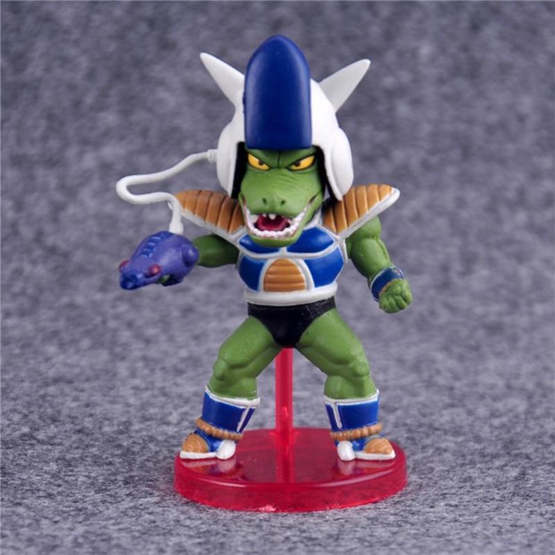 6pcs/lot Anime Dragon Ball Z Figures Freeza Juguetes PVC Action Figure Brinquedos Collectible Model Kids Toys 8cm