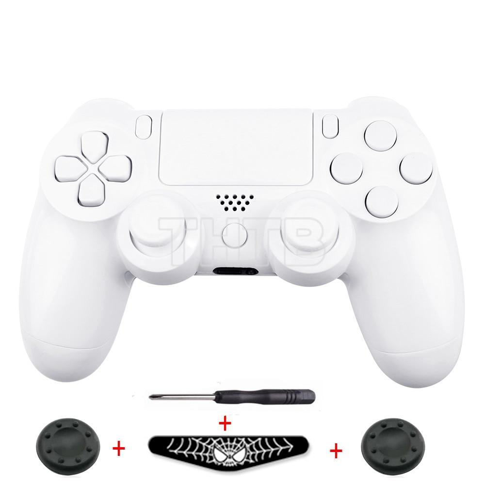 Custom Polish White Case For Sony Playstation 4 PS4 ...